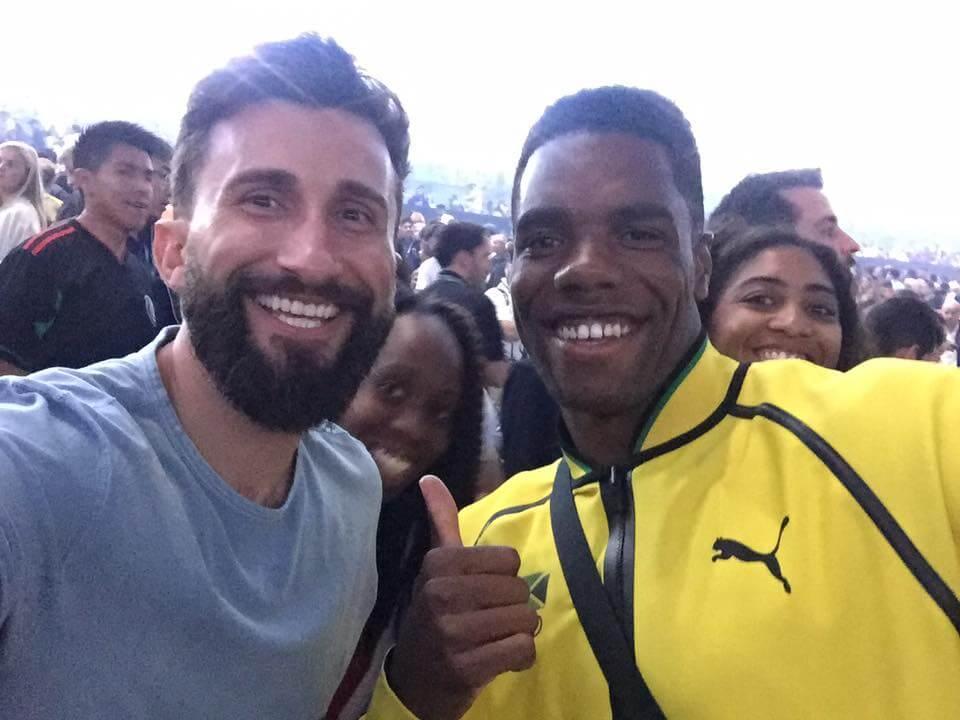 Jamaican Scuba diver Olympian Yona Knight-Wisdom at 2016 Rio Olympics