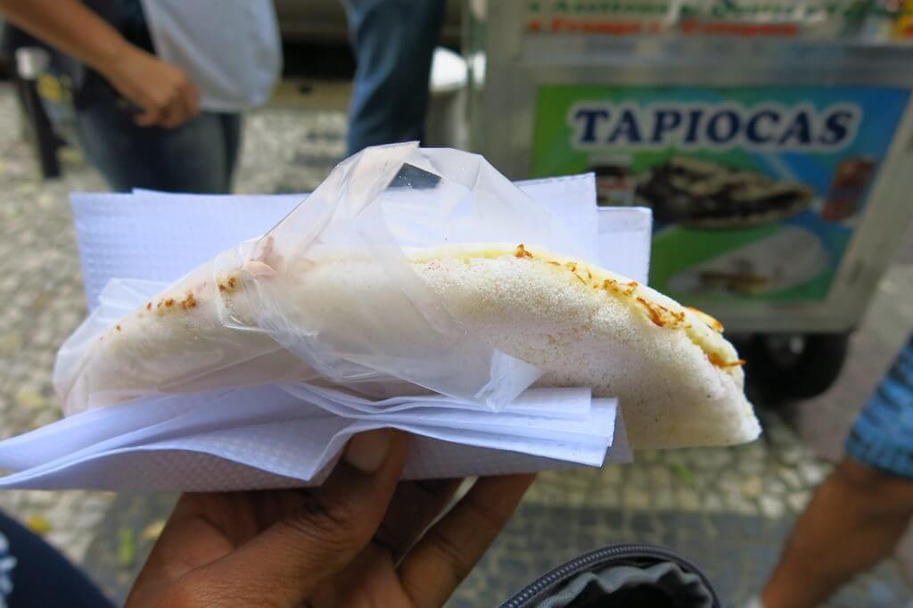 Delicious Tapioca in Rio de Janeiro