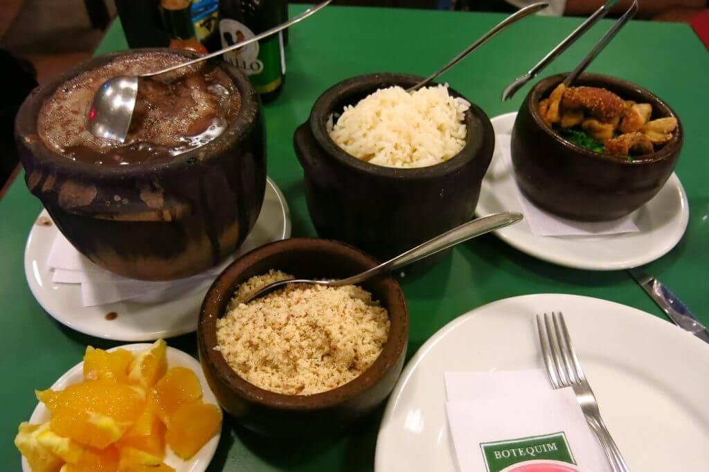 feijoada the popular Brazilian food