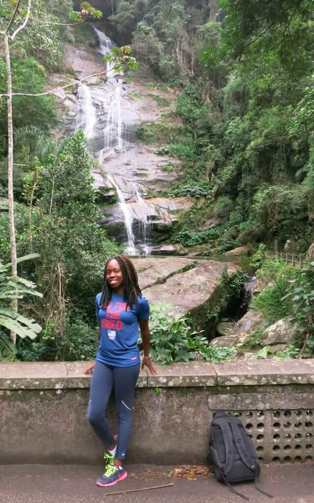 Cascatinha waterfall in Tijuca National Park