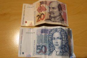 Croatian Kuna currency