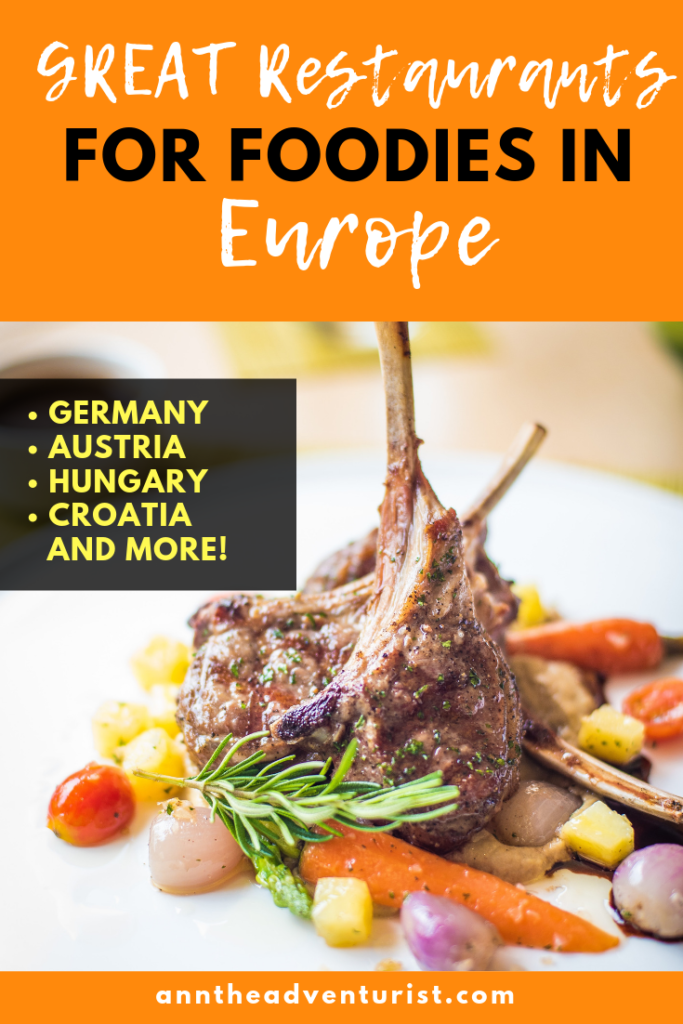 Great Restaurants in Europe