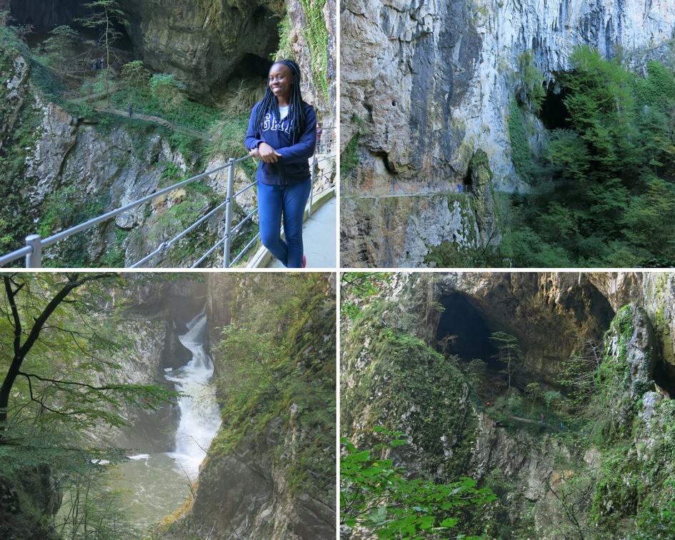 Outside of The skocjan cave, Slovenia