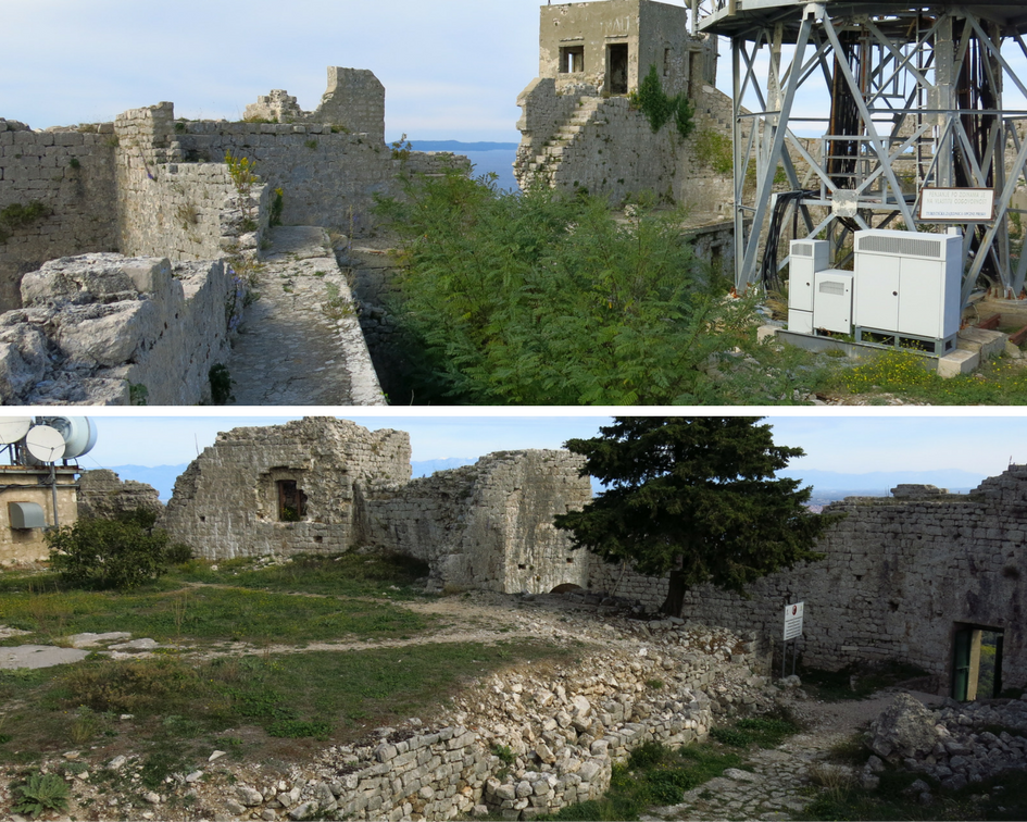 Saint Michael's fortress on Ugljan Island, Croatia