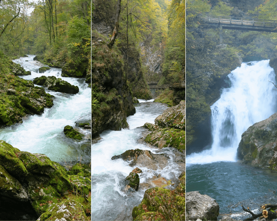 One of the Great Places in Europe, Vintgar Gorge in Slovenia