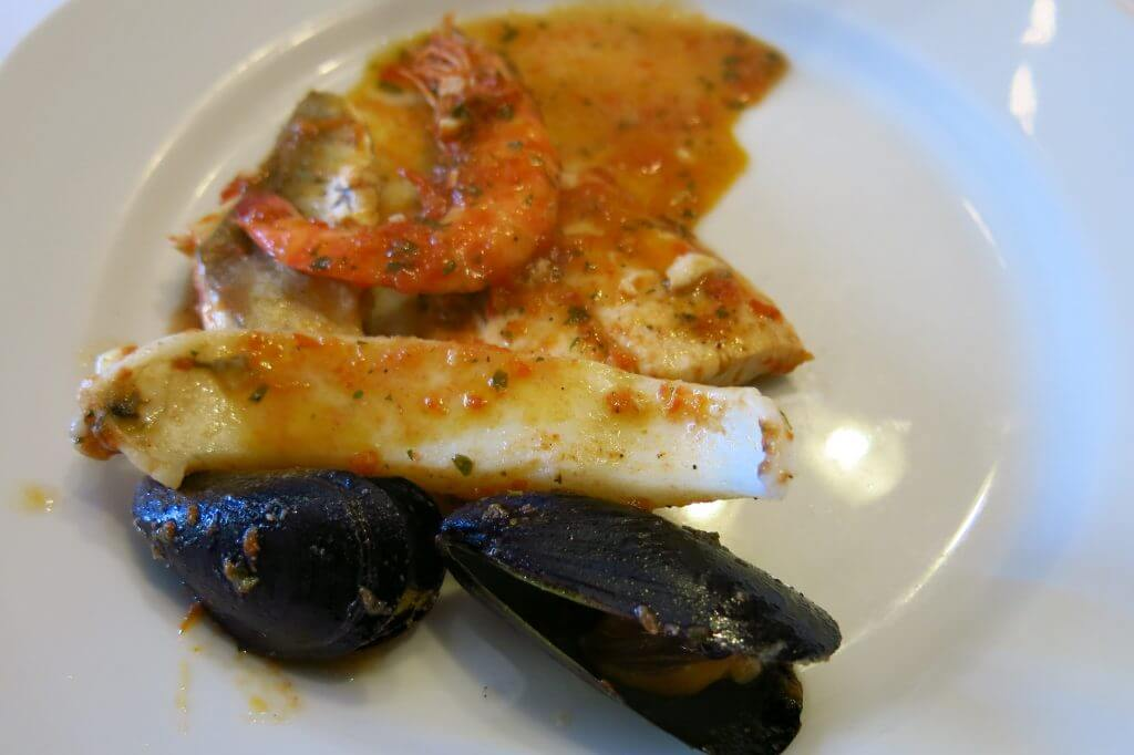 seafood stew (Sapori e Saperi)