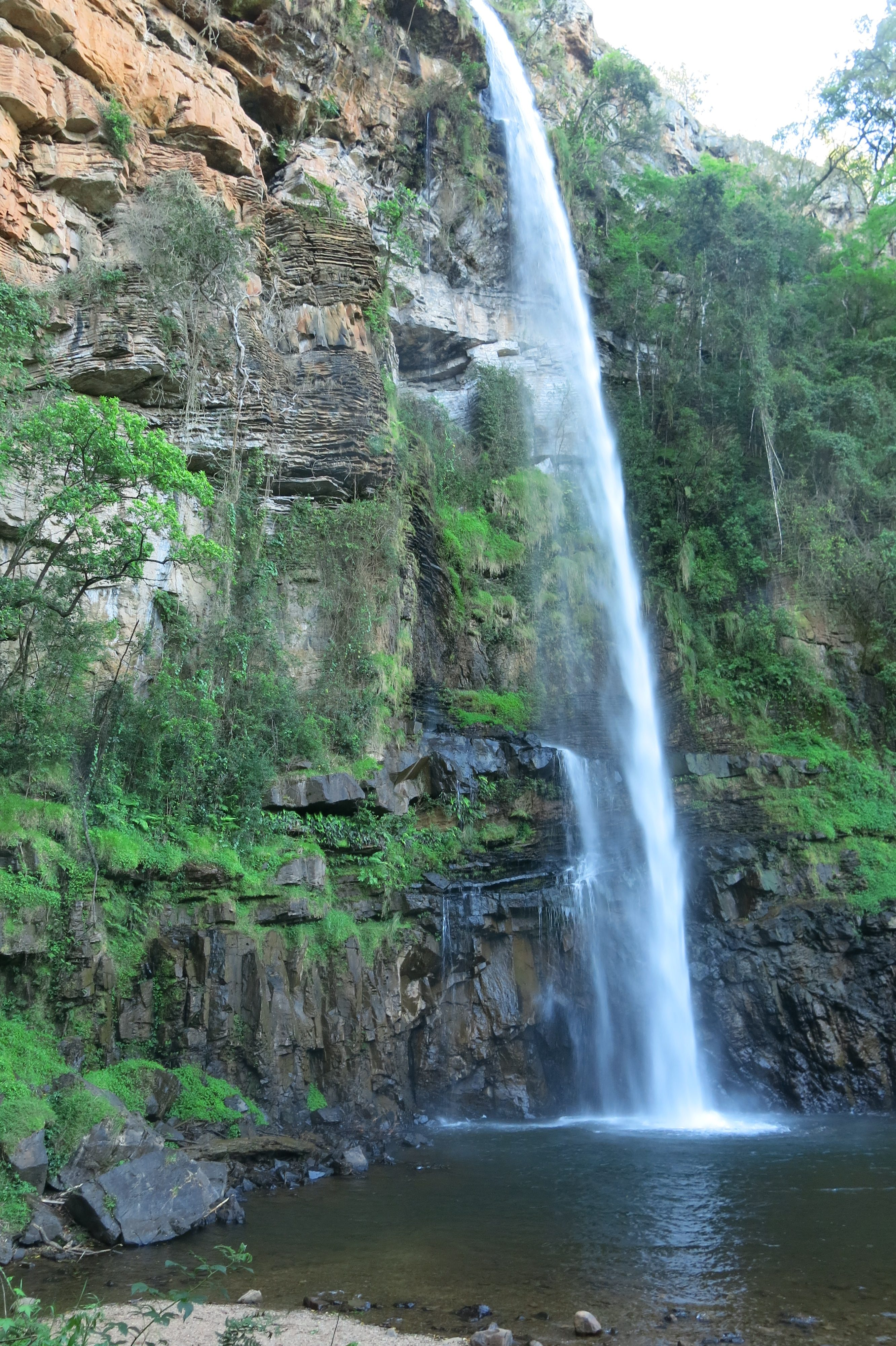 Lone Creek Falls in Mpumalanga (South Africa)