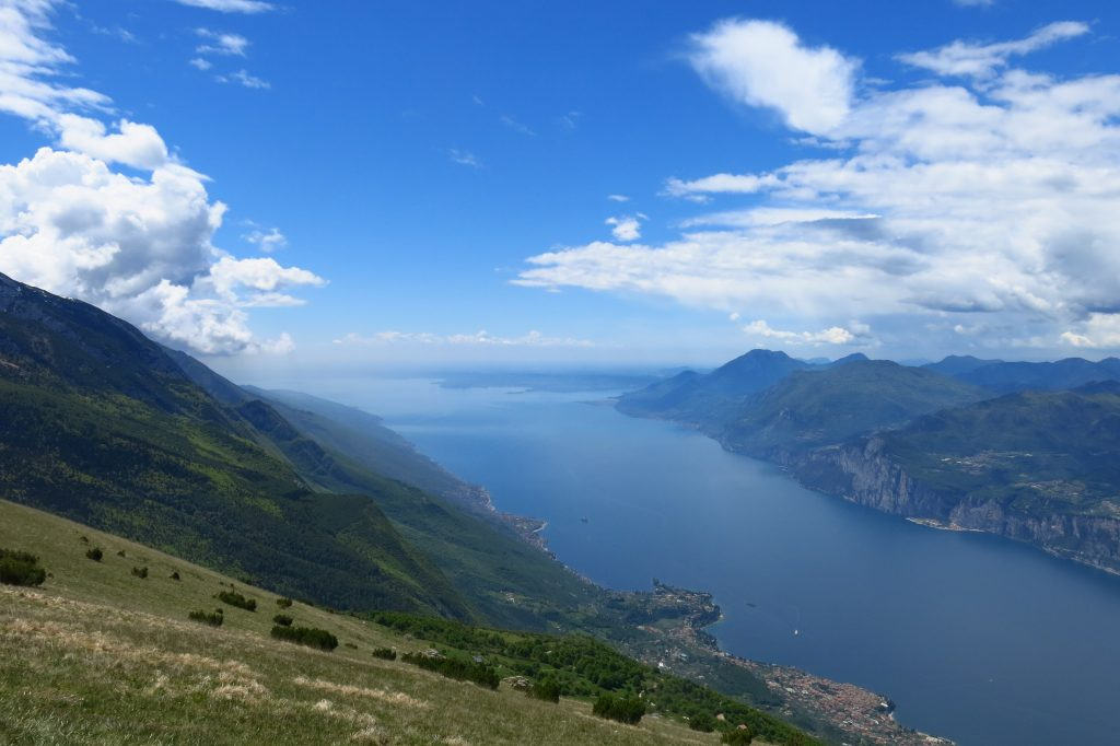 View of Lake Garda from Monte Baldo