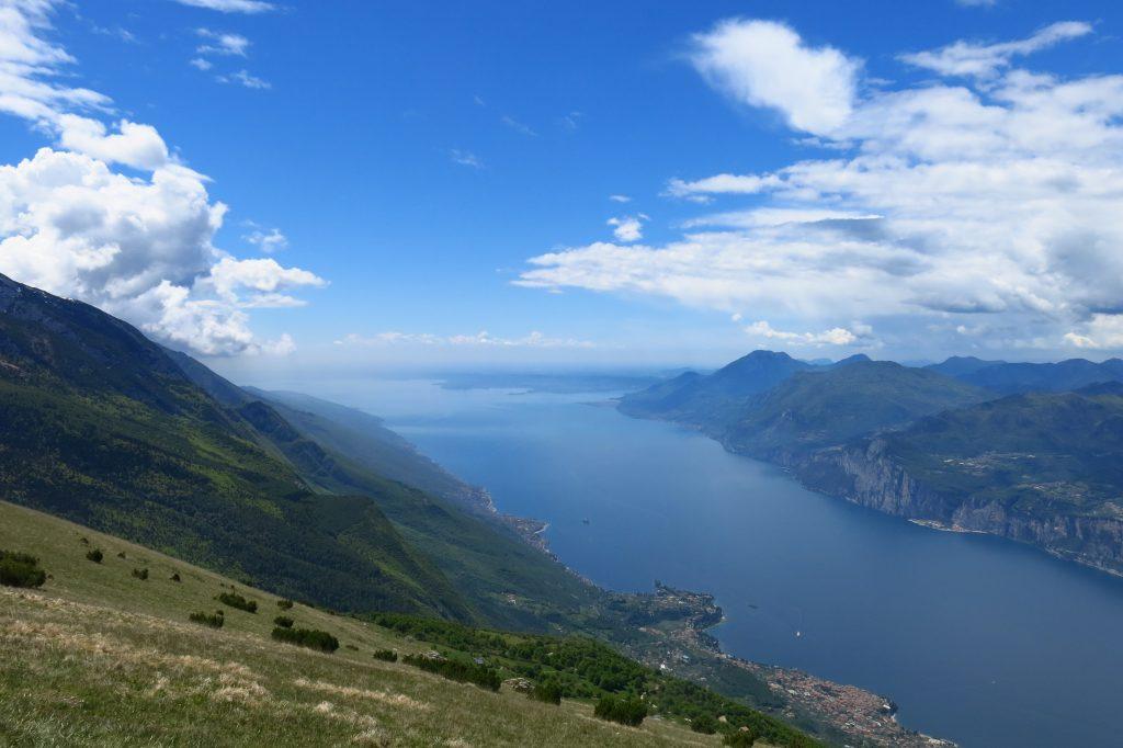 View of Lake Garda from Monte Baldo