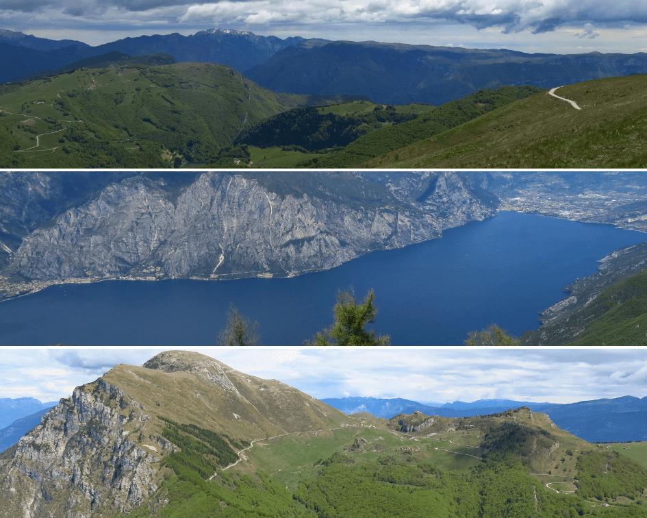 Colma di Malcesine trail at Monte Baldo