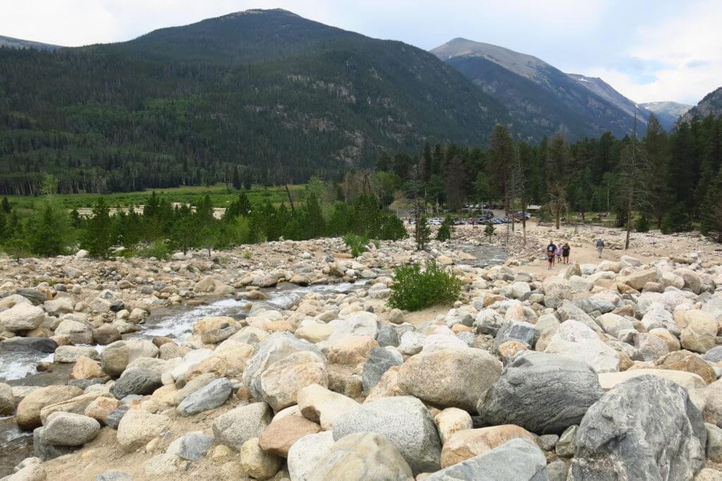 Alluvial Fan, Rocky Mountain National Park
