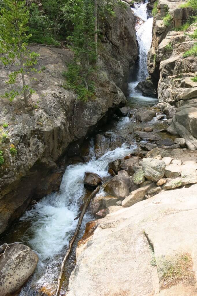Chasm Falls, Rocky Mountains