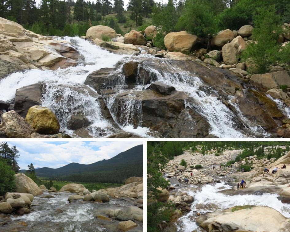 Horseshoe Falls, Rocky Mountain National Park