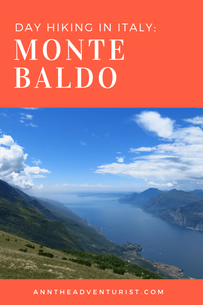Day Hiking at Monte Baldo (Italy)