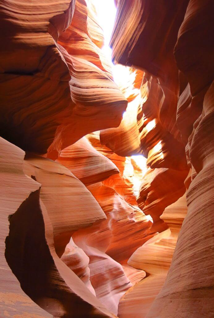 Lower Antelope Canyon in Arizona