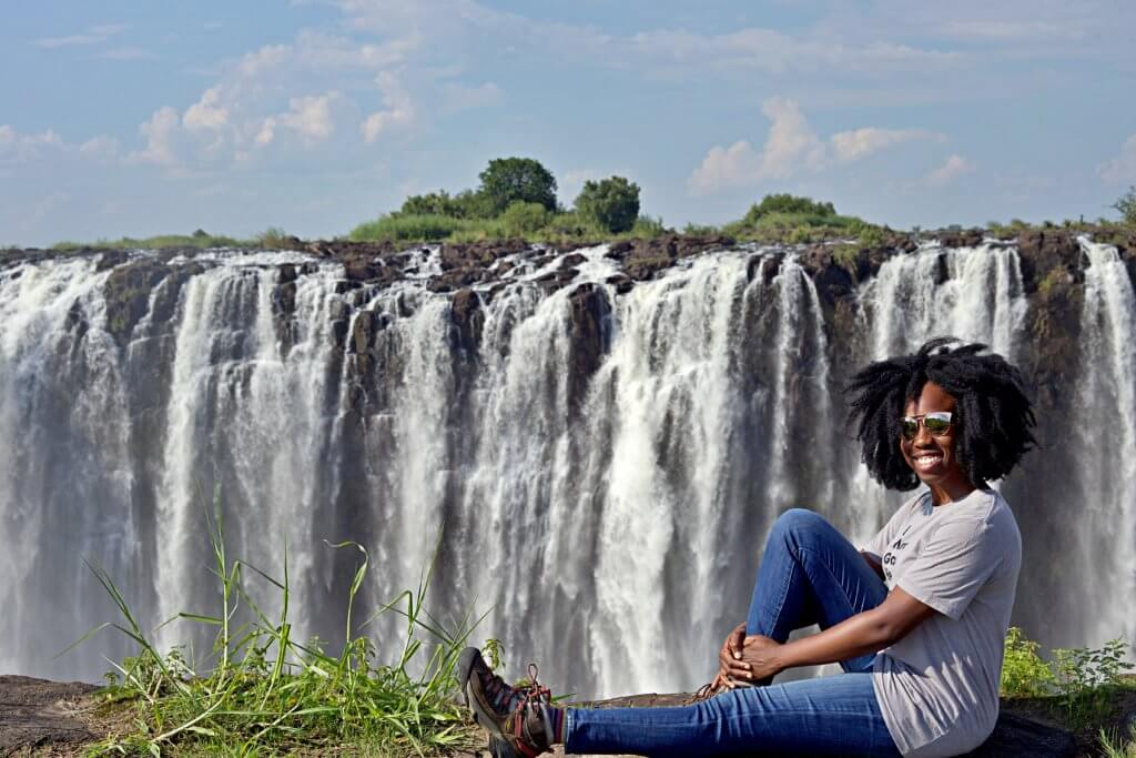 Victoria Falls National Park in Zimbabwe