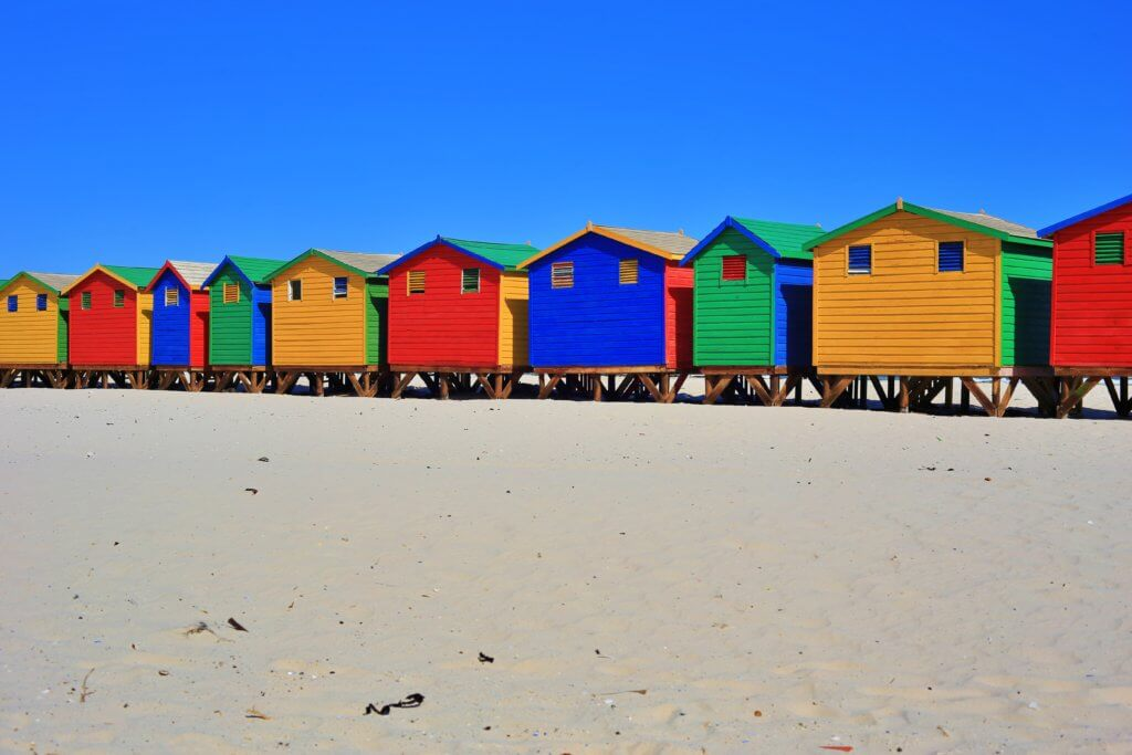 Muizenberg changing rooms