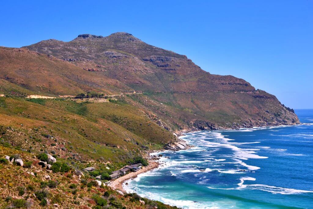 Beginning of Chapman's Peak Drive