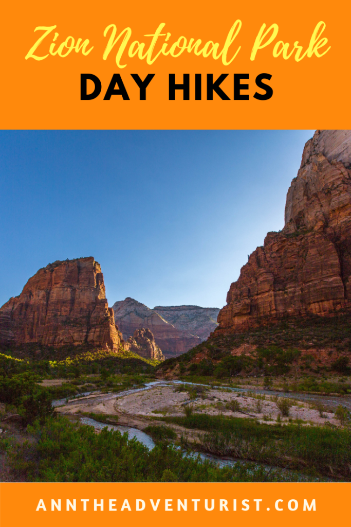 Day Hikes in Zion National Park