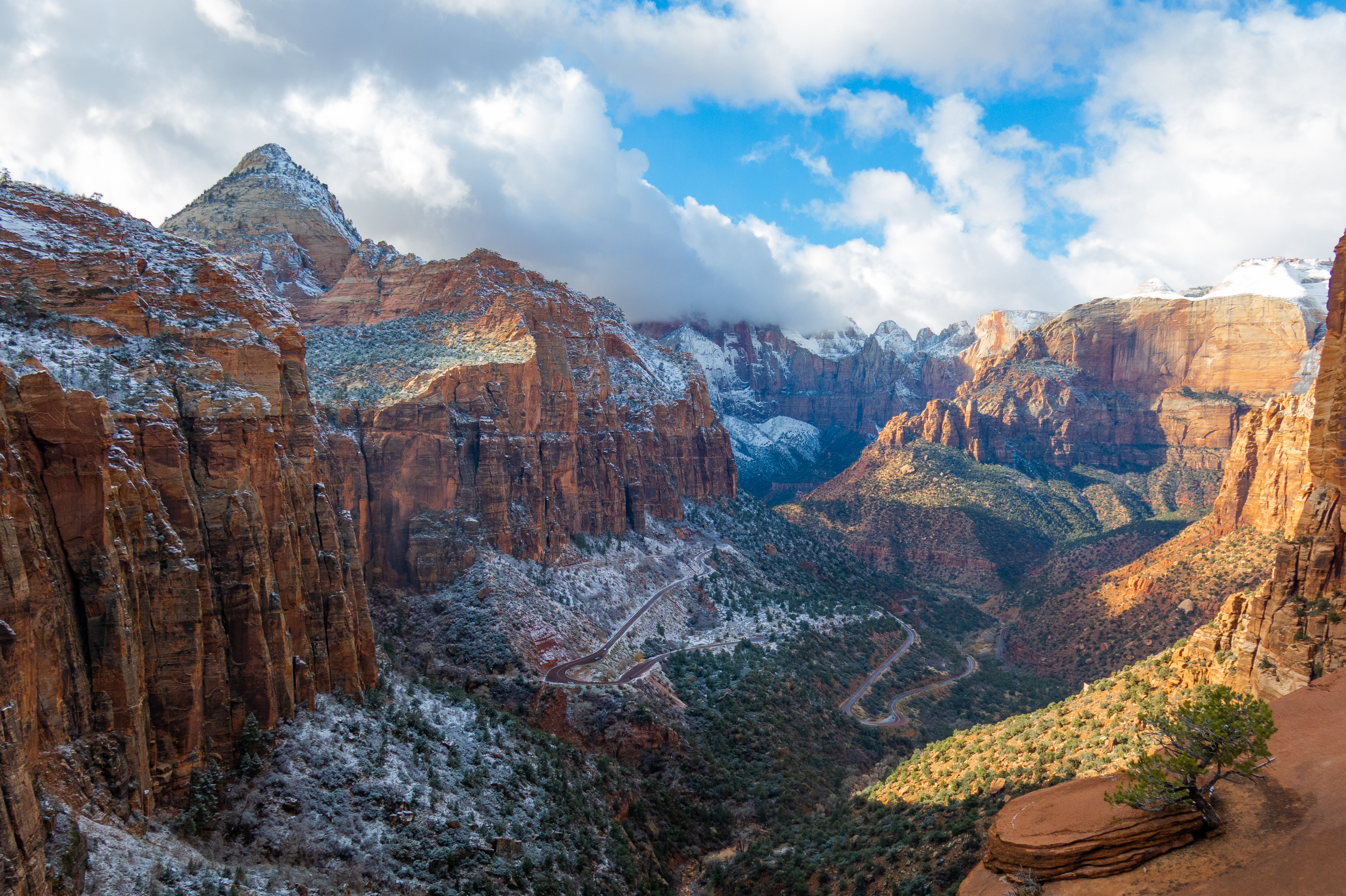Zion Canyon Overlook, Zion National Park