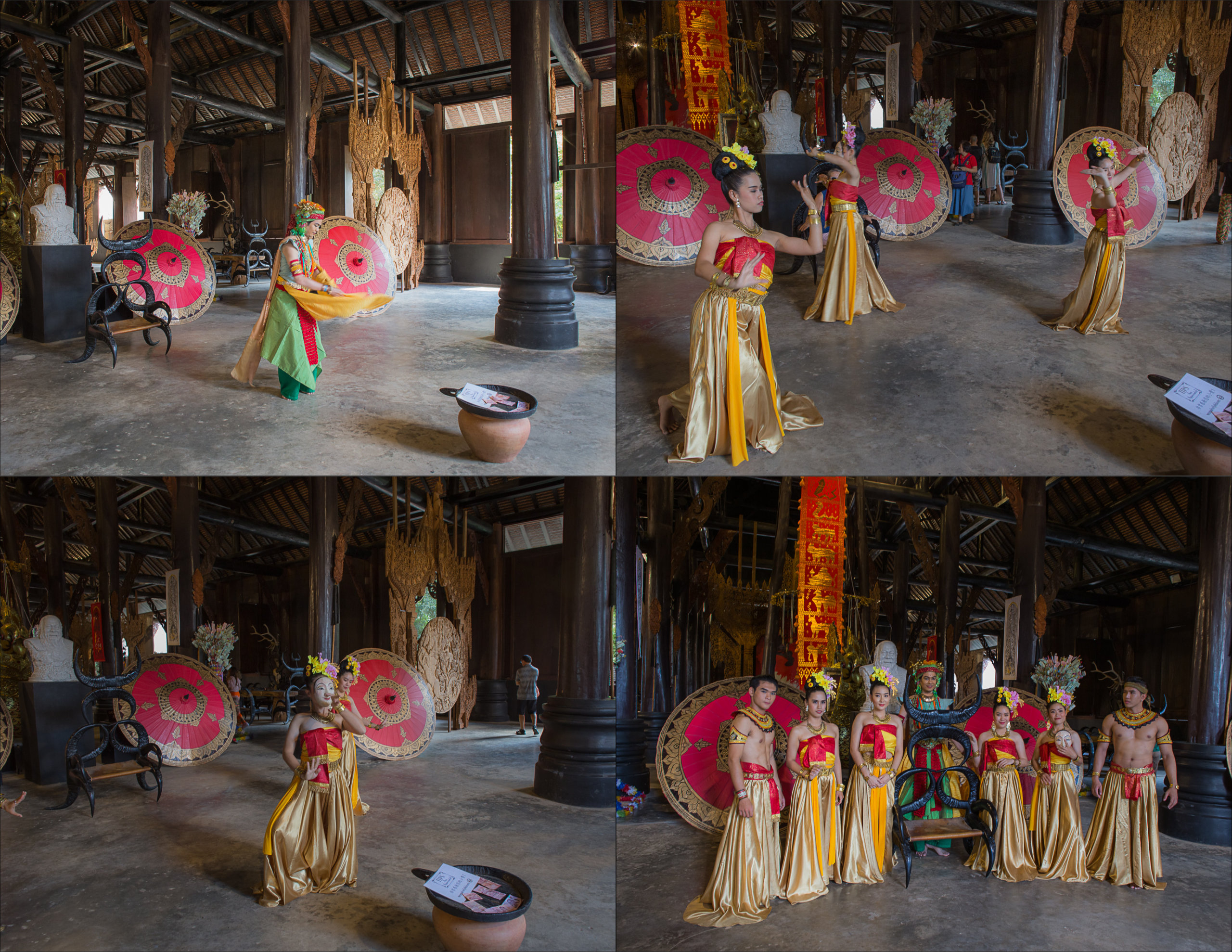Thai Cultural Dance at Baandam Museum