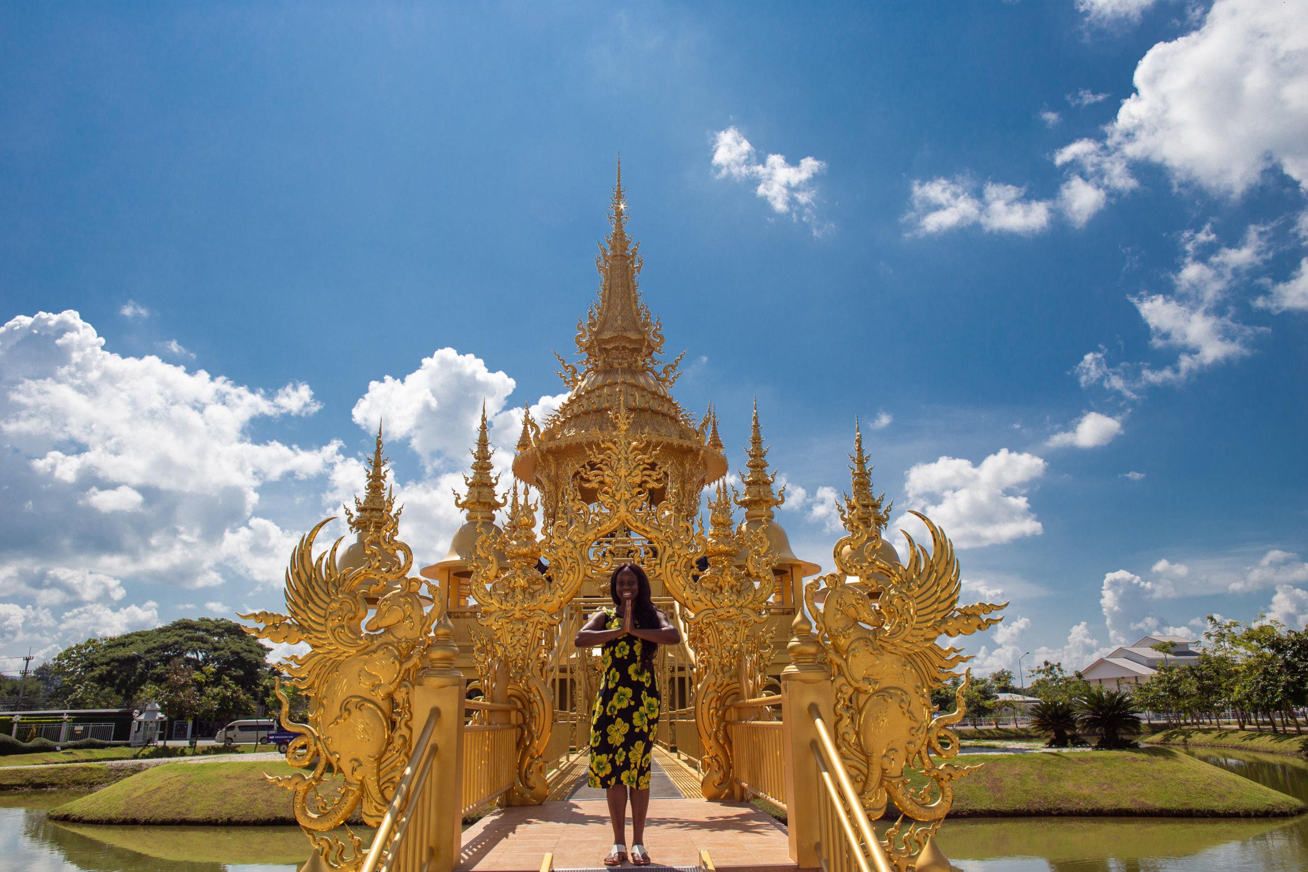 Ganesha Exhibition Hall in Wat Rong Khun, Chiang Rai